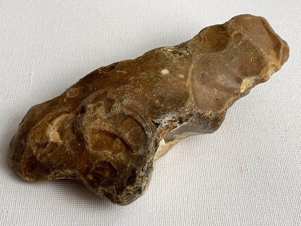 Polished Palaeolithic Chopping Tool