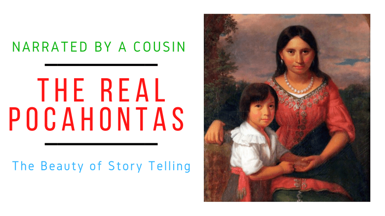 The Real Story of Pocahontas, Narrated by a Real Distant Cousin