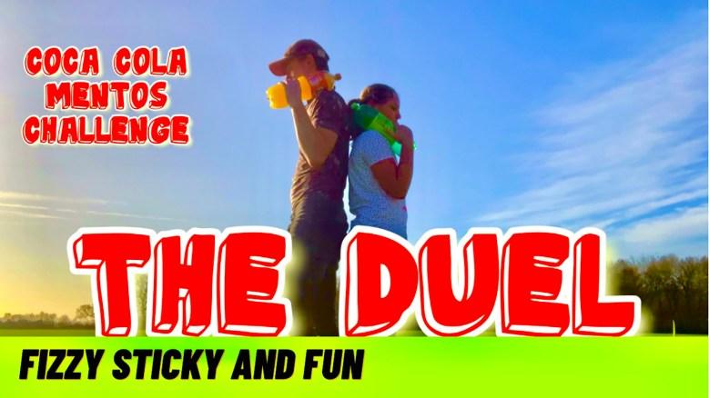 THE DUEL | Coca Cola, Fanta, 7up vs Mentos Challenge | Coke vs Mentos | Vlog 38