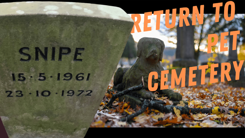 Return to Pet Cemetery / Nature Walk to a real old Burial Ground for dogs