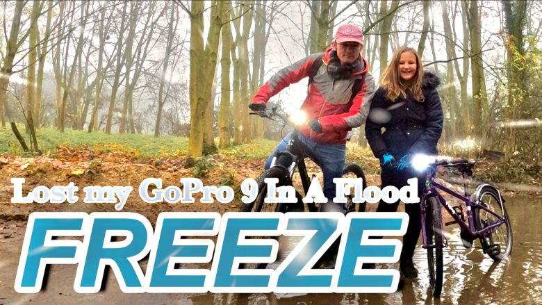 Freeze | Lost My GoPro Hero Black 9 in a Flooded River | How Long Did It Take To Find It? | Vlog 40