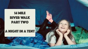 Adventure Walk | Two Day | 14 Mile Journey | Our Night in a tent | Stephen and Yhana | Vlog 16