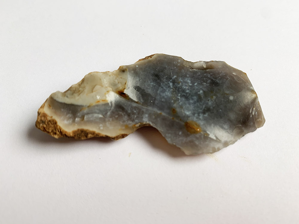 Mesolithic Knife with cortex