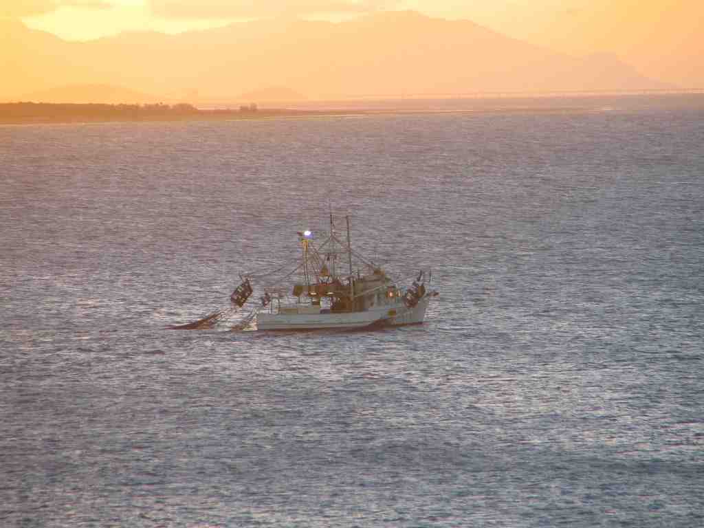 fishing boat sunrise rsl