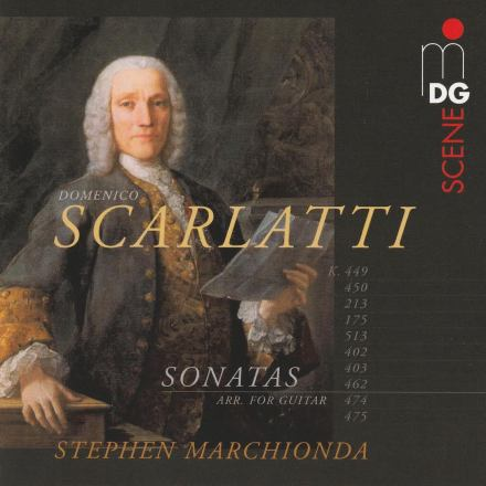 Cover of Scarlatti album