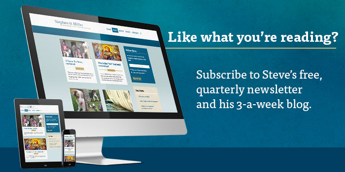 Subscribe to Stephen M. Miller's blog or newsletter