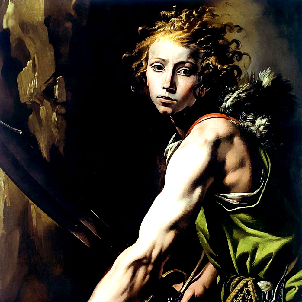 Painting of David