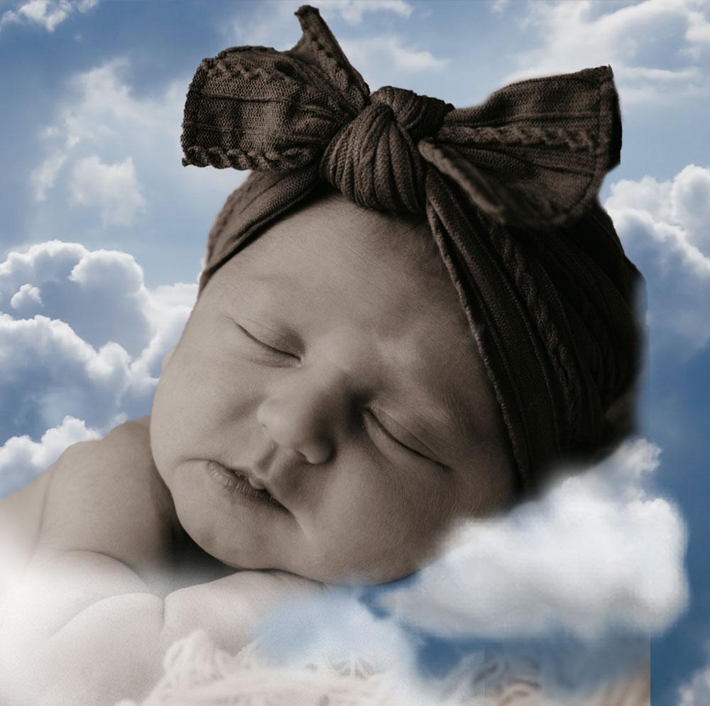 photo of sleeping baby