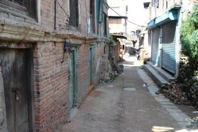 Beautiful, quaint laneways throughout the village