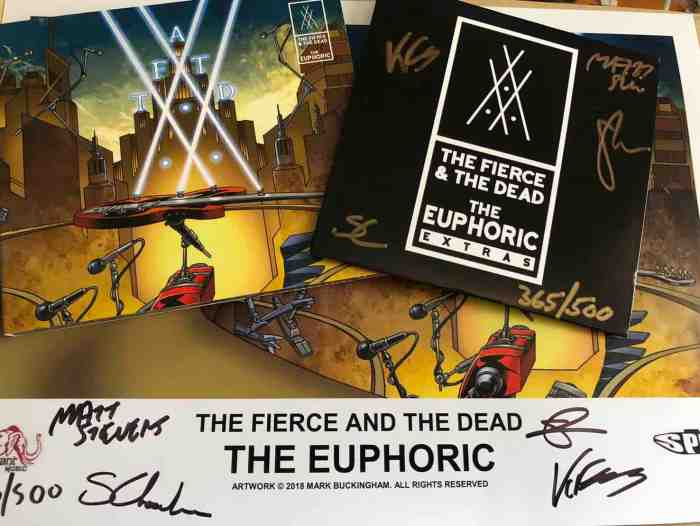 The Fierce And The Dead album