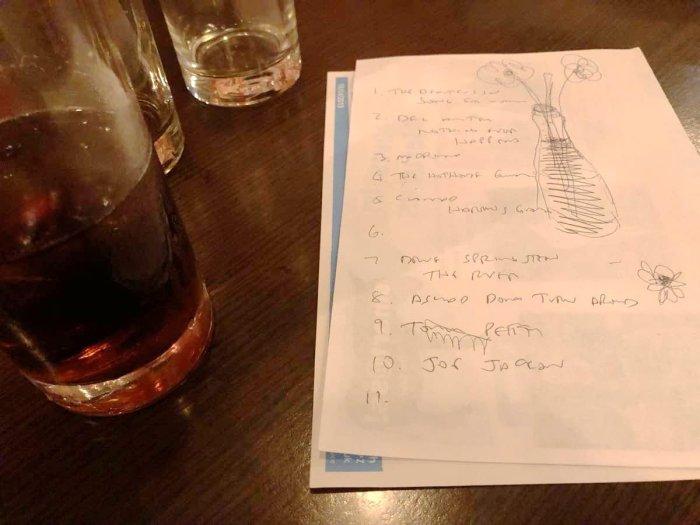 quiz doodles and drinks