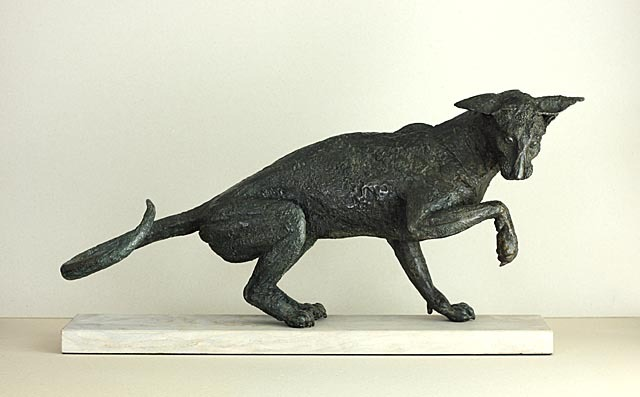Siamese Cat Sculpture in bronze