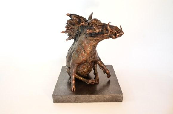 Warthog,Warthog statue, Warthog bronze sculpture
