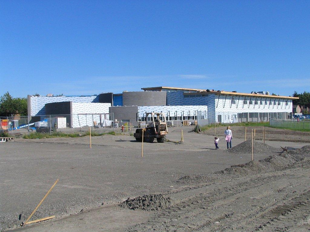 Steveston-London High School under construction June 30 2007