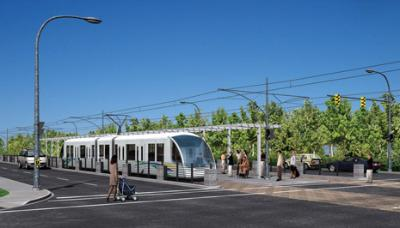 Translink's Concept of the Evergreen LRT