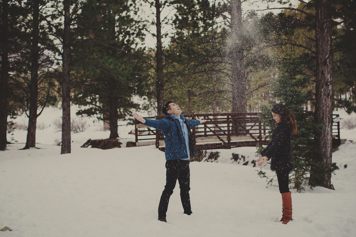 Mt Charleston engagement session