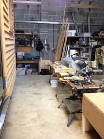clean workshop, ready for next time ....