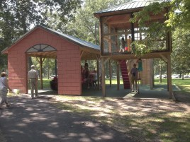 Kids fire station at Krape Park