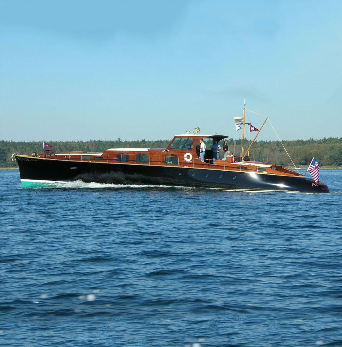 Aphrodite Stephens Waring Yacht Design
