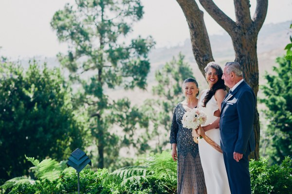 Wedding ceremony Wayfarers Chapel - Stephen Tang Photo