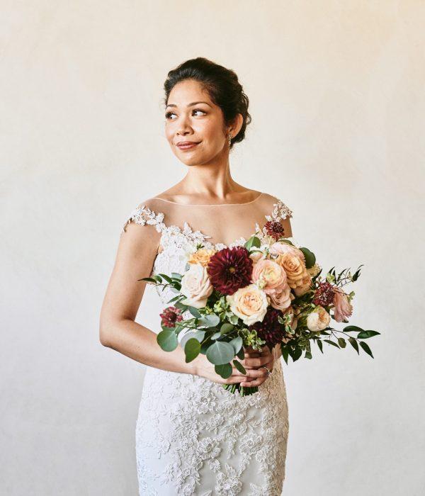 Portrait of the bride Ponte Winery