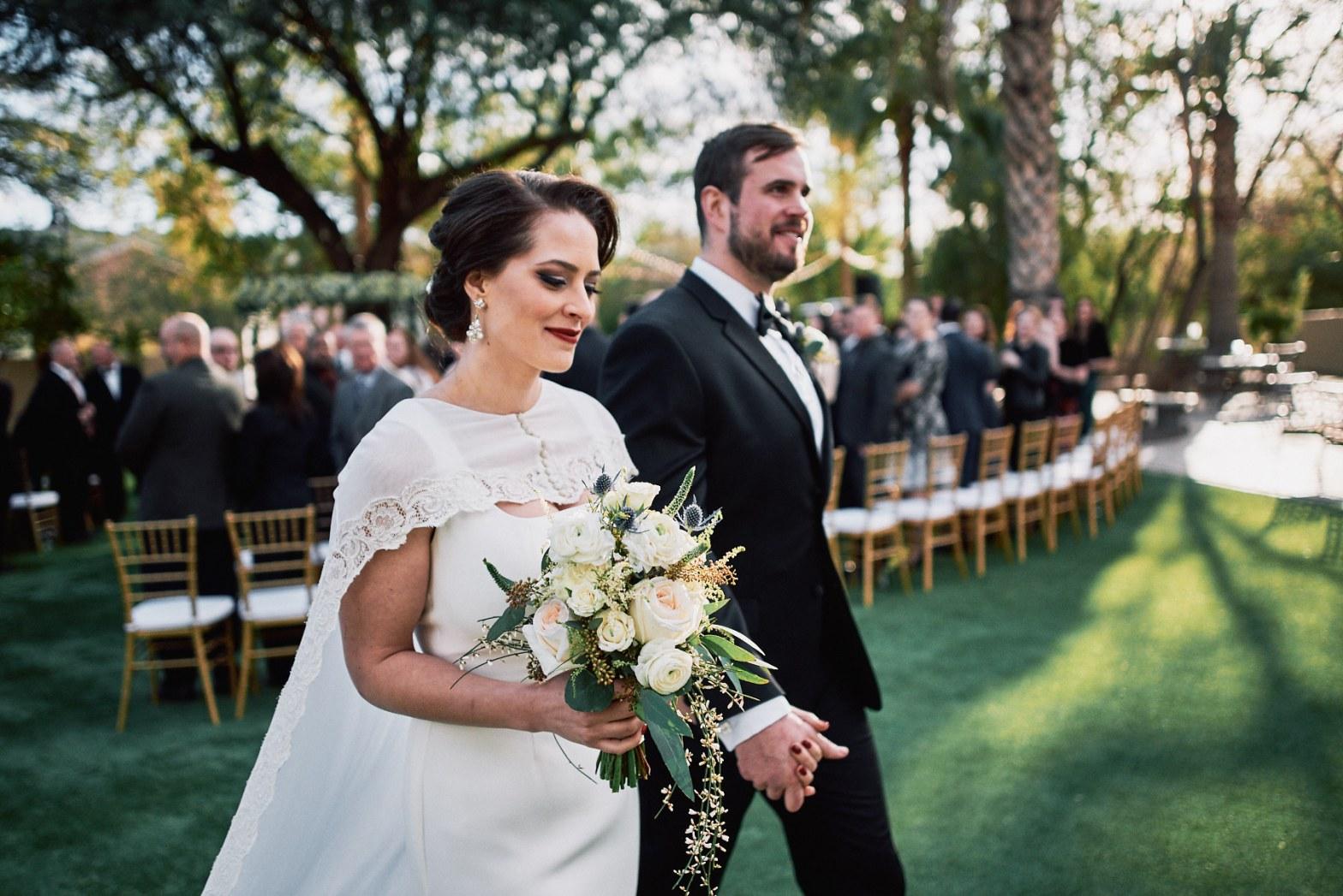 Secret Garden Event Center wedding ceremony
