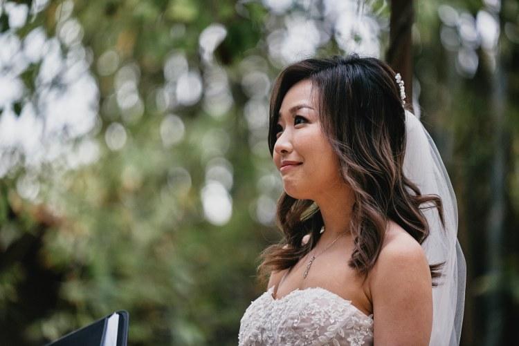 micro wedding bride storrier stearns japanese garden pasadena
