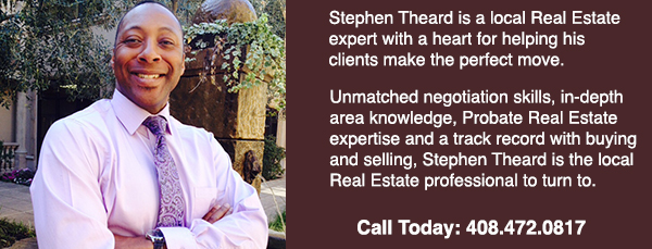 California Realtor, Stephen Theard