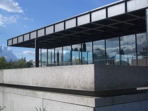 Neue Nationalgallerie, Berlin - Mies van der Rohe 01_Stephen Varady photo ©