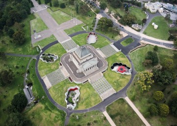 Shrine of Remembrance by ARM 01_John Gollings Photo ©