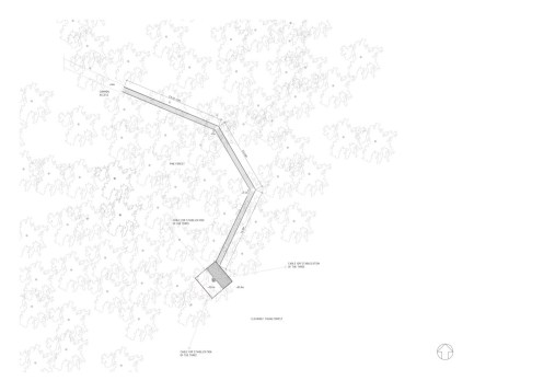 Tham & Videgård Arkitekter - Tree Hotel plan