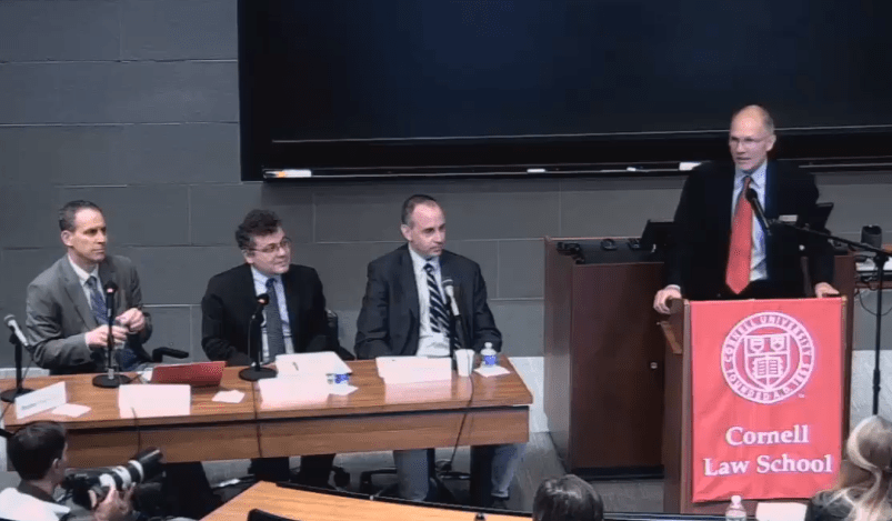 Cornell University Panel on Trump's Immigration Executive Actions