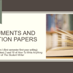 Arguments and Position Papers