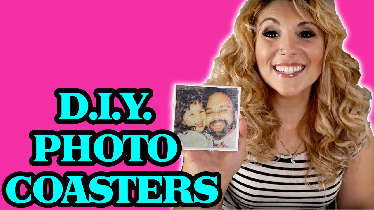 DIY Photo Coasters!