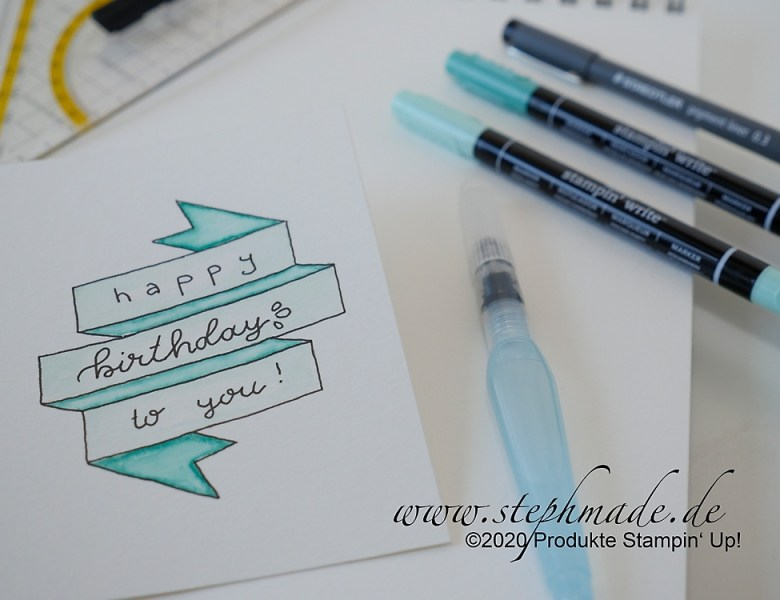 Neues Hobby – Handlettering