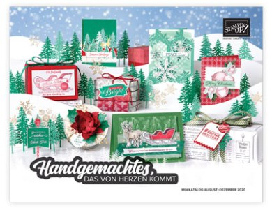 Neuer Stampin' Up! Minikatalog Aug – Dez