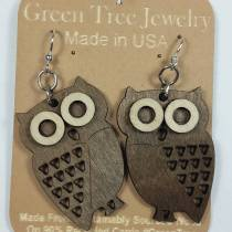Say Owl Always Love You with Green Tree Jewelry
