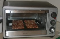 Rosewill Extra Deep Stainless Steel 12-inch pizza Convection Toaster Oven