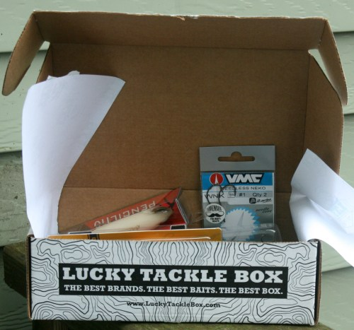 Lucky Tackle Box Unboxing
