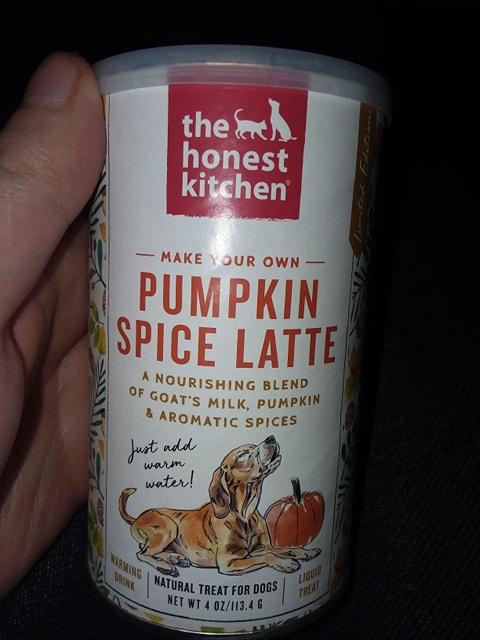 Chewy Influencer: The Honest Kitchen Instant Pumpkin Spice Latte