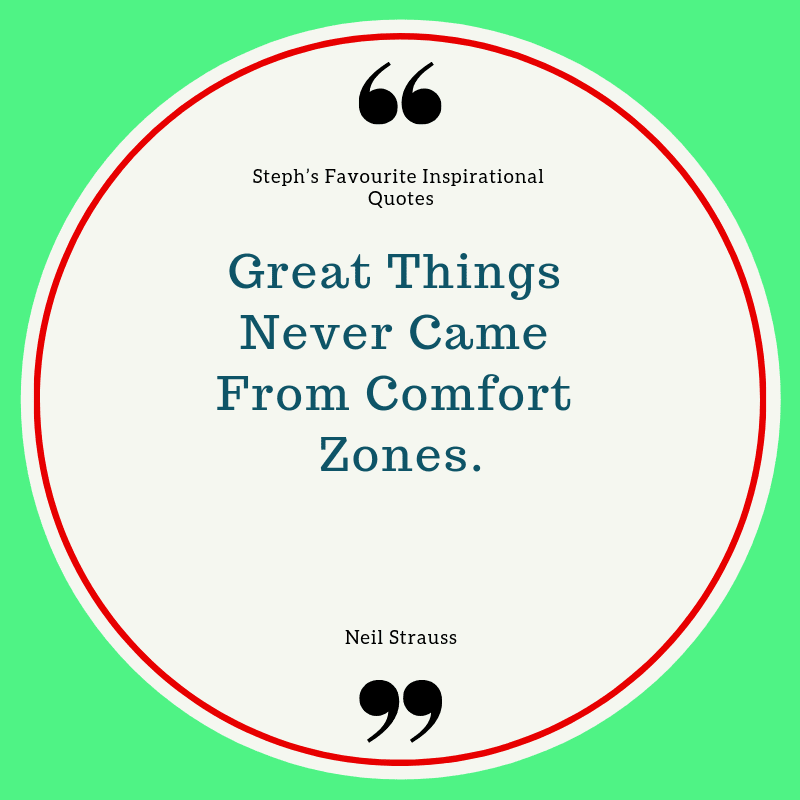 quote about comfort zone