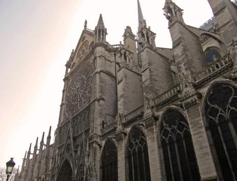 Notre Dame Cathedral. Home to Quasimodo.