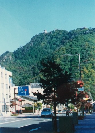 Gifu castle sits atop Kinka-san (Mount Kinka).