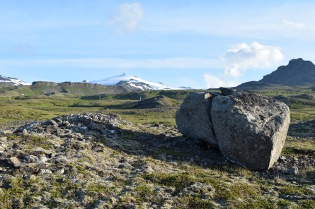 Snaefellsnesjokull (in the distance) from the other side.