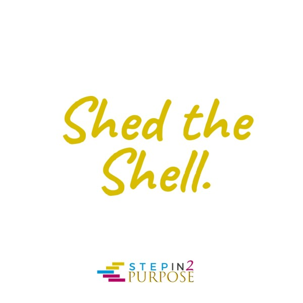 Shed the Shell writing