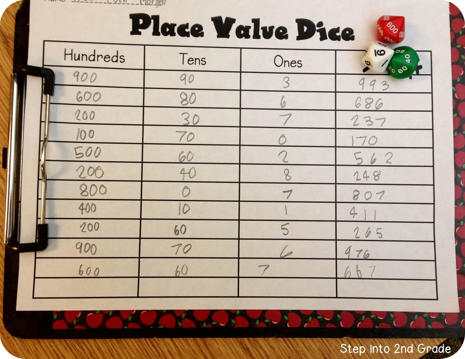 More Mudge And Place Value