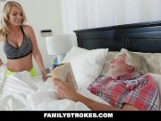 FamilyStrokes Sexy Housewife Fucks Her Stepson