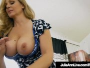 Step Mommy Julia Ann Opens Mouth For Step Sons