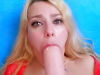 Make your mom happy cum in her