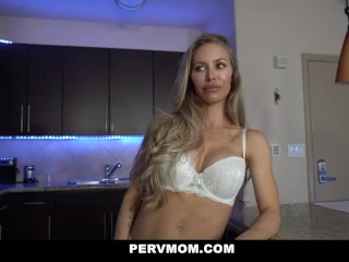 PervMom Perfect Milf Plays With Her Stepsons